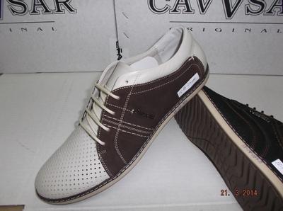 Мужская высококачественная обувь из кожи от производителя
